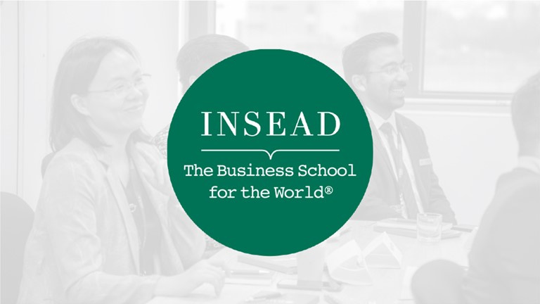 Hinrich Foundation Global Trade Leader Insead